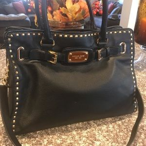 Michael Kors - Leather Hamilton Whipped purse